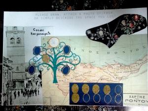 Family History Postcard